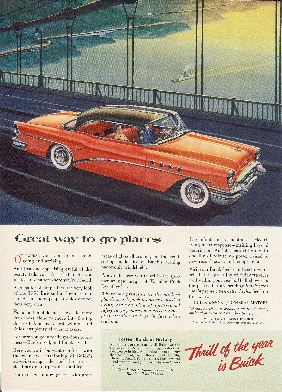 1955 Buick Advertisements