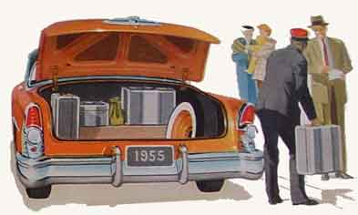 1955 Buick Super Trunk